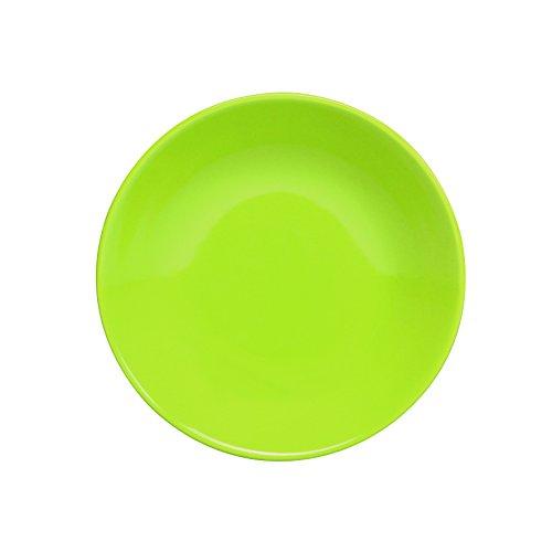NOVASTYL Lot de 6 Assiettes Creuses 20 5 Ibiza Vert Anis