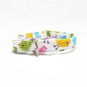 Katzenhalsband – Vögelchen