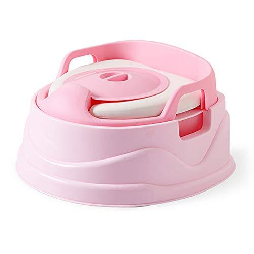 Toilettes pour Enfants SystèMe De Pot Multifonctions 3 en 1 SièGe De Formation pour Pot Coussin De SièGe en PU Conception Amovible Facile à Installer Facile à Nettoyer