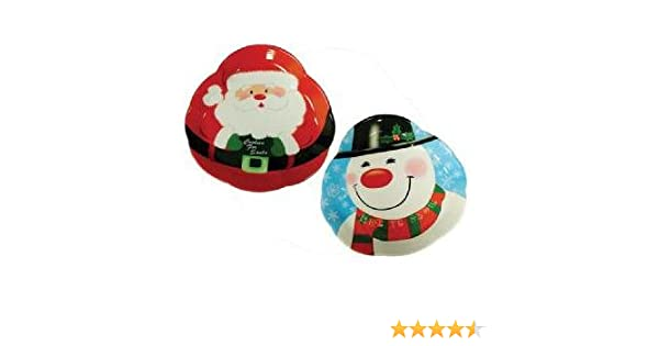CHRISTMAS XMAS PARTY FATHER CHRISTMAS or SNOWMAN DRINKS SERVING TRAYS