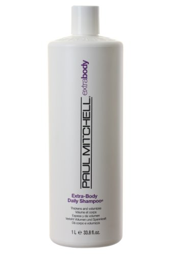 PAUL MITCHELL by Paul Mitchell EXTRA BODY DAILY SHAMPOO THICKENS FINE AND NORMAL HAIR 33.8 OZ - Extra Body Daily Shampoo