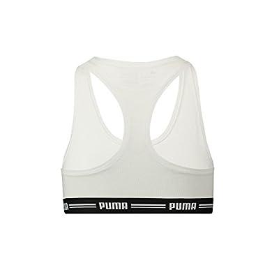 Puma Damen Iconic Racer Back Bra 1P Unterwäsche, White, XS by PUMAM|#PUMA