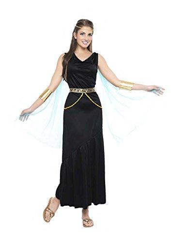Imagen de disfraz griega color negro talla m/l tamaño adulto