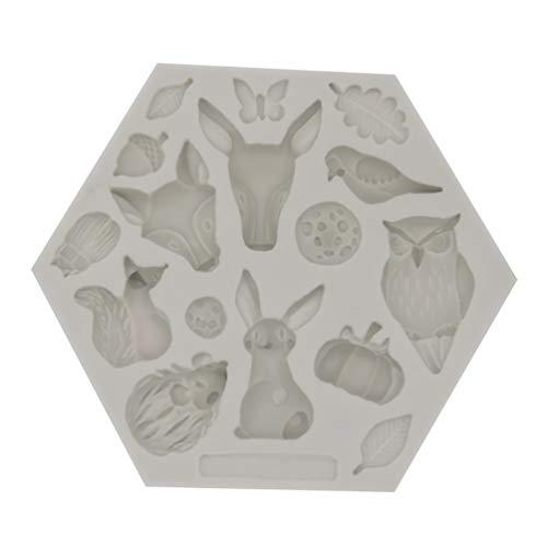 uchenform Eule Giraffe Tier Puzzle Basteln Küchenbedarf Werkzeug Dekor DIY ()