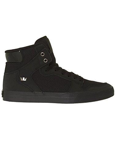 Supra Vaider S28058, Sneaker uomo Black nubuck