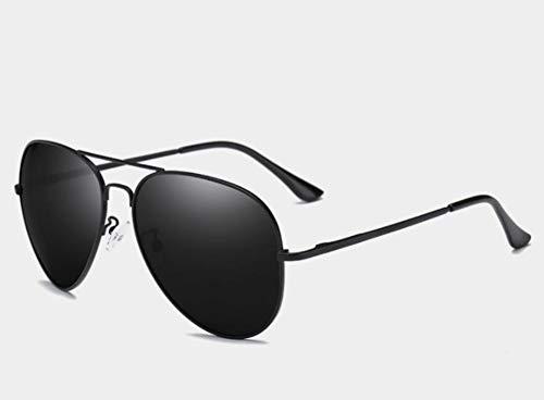 Sonnenbrillen Gläser 150 Mm Oversized Mens Polarisierte Sonnenbrille Schwarz Aviation Sonnenbrillen Für Mann, Der Polarisierende Sonnenbrille Uv400 Pilot Schwarzen Rahmen