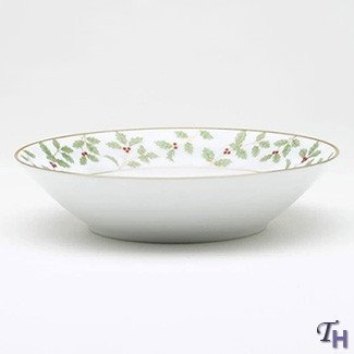 Noritake Holly and Berry Gold Soup Bowl by Noritake CO., INC. - DROPSHIP Gold Berry Bowl
