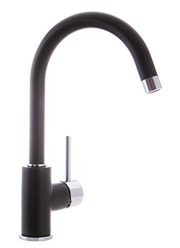 Grünblatt Schwarz Küchenarmatur Einhebelmischer Wasserhahn Küche Armatur