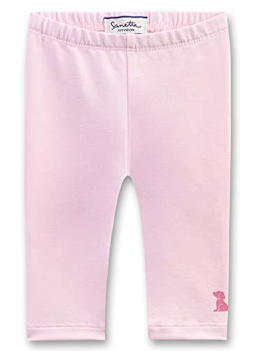 Sanetta Baby-Mädchen Leggings Rosa (Magnolie 3609) 86 (Herstellergröße: 086)