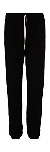 Bella+Canvas: Unisex Poly-Cotton Scrunch Pant 3737, Größe:S;Farbe:Black