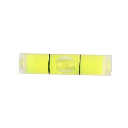 uctop Store 10PCS Zylindrische Kunststoff Bubble Spirit Level Ampullen 8* 35mm (35mm Minolta Kamera)