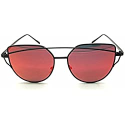 ARA Damen Sonnenbrille, rot