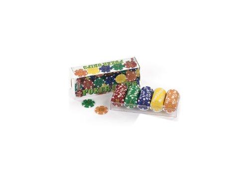 Dal Negro DAL 100 Poker Chips Gr 11,5 Val0,50 10 Accessori da Gioco Dadi Fiches 258,, 8001097020911