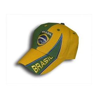 Fanmarkt Brasilien Brasil Team Cap Gelb