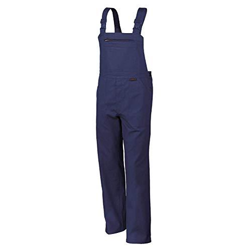 Männer Versuchen Kostüm - Qualitex Arbeits-Latzhose BW 270 - Größe: 58 - hydronblau