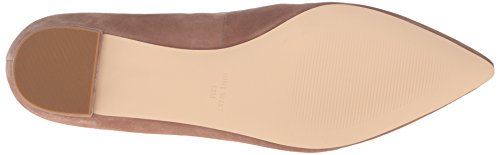 Nine West Womens abay Suede Pointed Toe Flat Natural