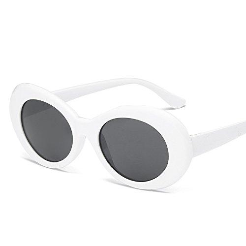 Haodou Kleine Ovale Sonnenbrille Frauen Männer Sonnenbrille Metallrahmen Gafas de Sol Vintage...