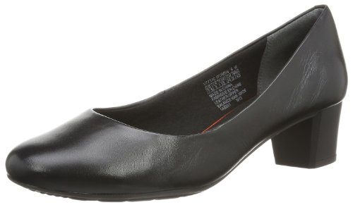 Rockport  Tm45Mmmh Plain Pump,  Scarpe stringate donna Nero Noir (Black) 37