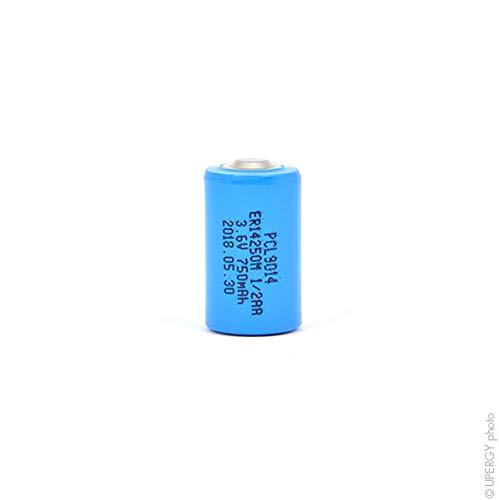 NX - Batterie Lithium ER14250M 1/2AA 3.6V 750mAh -