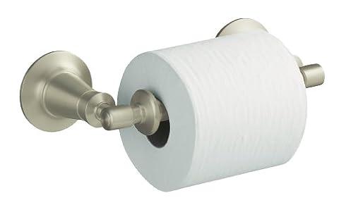 Kohler K-11054-BN Archer Toilet Tissue Holder, Vibrant Brushed Nickel