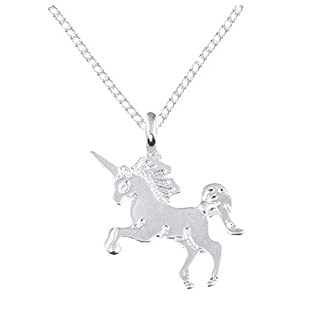 Hapahabie Silver Card Packaging Unicorn Horse Alloy Clavicle Chain
