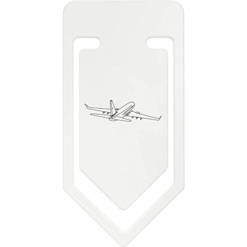 Azeeda 141mm 'Jumbo-Jet' Riesige Plastik Büroklammer (CC00004016) -