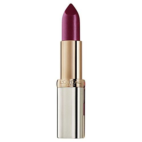L'Oréal Paris Color Riche in Nr. 374 Intense Plum, farbintensiver Lippenstift mit pflegenden...
