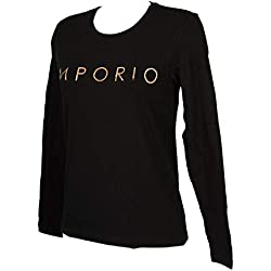 Emporio Armani T-Shirt Femme Manches Longues col Rond Article 164273 9A225