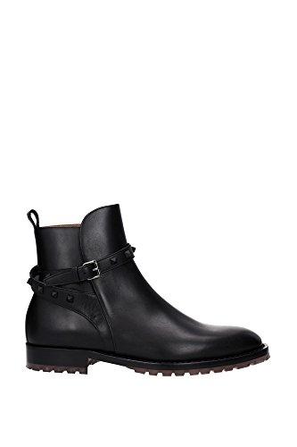LY2S0878VTR0NO Valentino Garavani Chaussure montante Homme Cuir Noir Noir