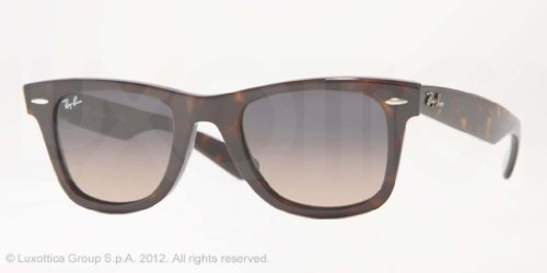 Ray-ban originali occhiali da sole wayfarer avana opaco