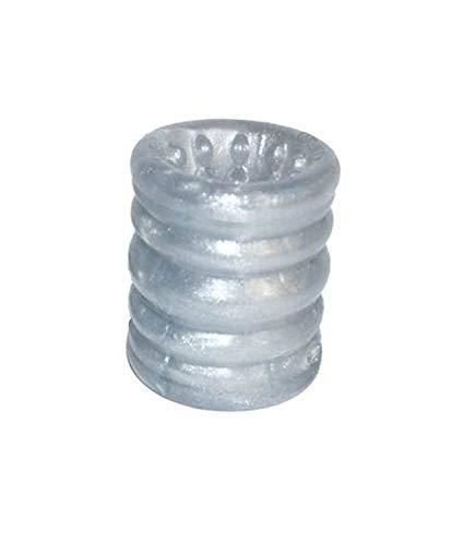 Oxball Slug Ballstretcher Silicone 72mm oder 54mm Farbe Blau oder Silber (SILBER 54mm)
