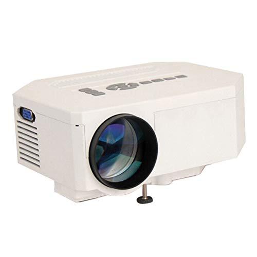 LUOJIE Projektor, Videoprojektor Mini-Projektor Hd 1080p Pico-Projektor für Heimunterhaltung, Partys und Spiele