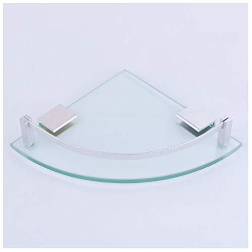 Glas Badezimmer Regale Mini Badezimmer Glas Eckzarge Stativ 15CMX15CM Rack