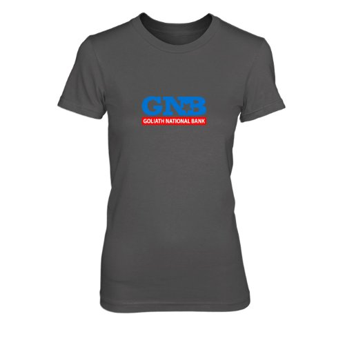 HIMYM: Goliath National Bank - Damen T-Shirt Grau