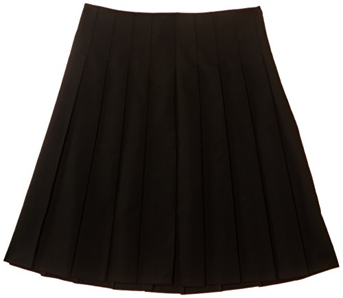 trutex-girls-stitch-down-pleat-skirt-black-15-years-manufacturer-size-w30-l22