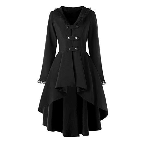 Halloween Kostüm Für Drei Teenager Mädchen - MYMYG 2019 Gotische Kleidung Damen Steampunk
