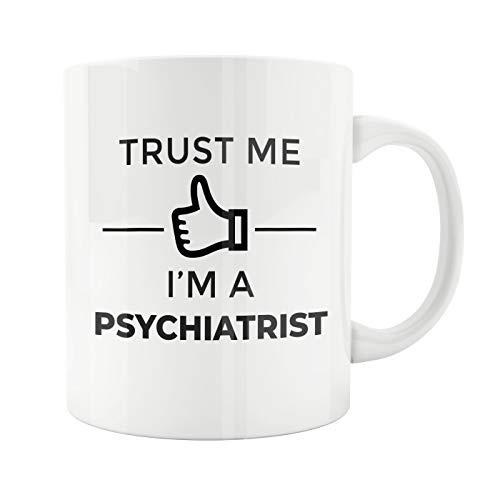 15oz White Ceramic Coffee Mug, Psychiatrist Gifts, Funny Psychologists Mug, Psychiatrist Mug, Psychologist Mug