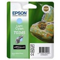 Preisvergleich Produktbild Epson T0345 Tintenpatrone Chamäleon, Singlepack, light cyan