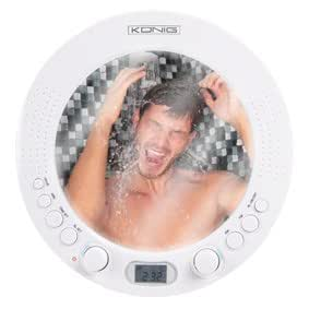 Radio de douche salle de bains etanche avec miroir amazon for Radio etanche salle de bain