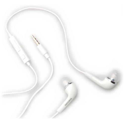 Samsung EHS64 - Kit auricolari per Samsung S8530 Wave II, colore: Bianco
