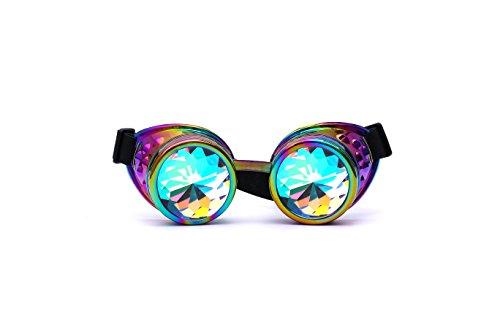 1c1cafb895 Gafas de cosplay de AFUT, caleidoscopios, gafas de disfraz, gafas arco iris  con