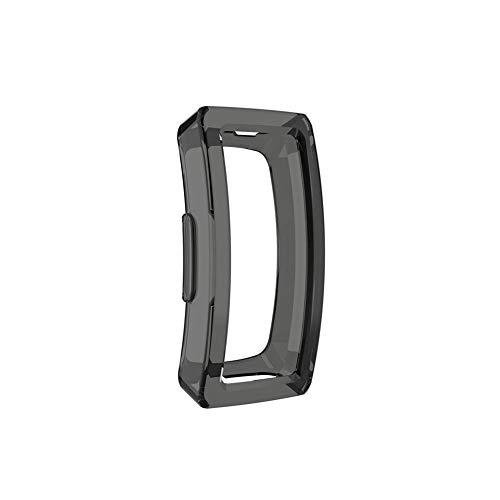 hifuture Für Fitbit TPU Schutzhülle Durchsichtig Gehäuse Protective hülle vollständiges Cover für Fitbit Inspire Fitbit Inspire HR Fitness Tracker Smartwatch (6 Farben optional)