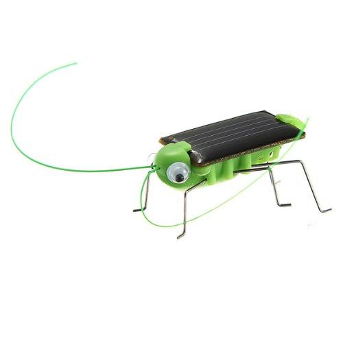 Solar Angetrieben Grashüpfer Grasshopper Heuschrecke Heupferd Spielzeug Tier