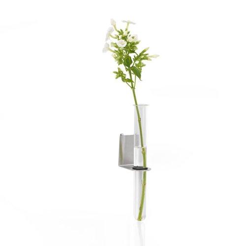 Blomus Vase tube Hauteur 17,5 cm