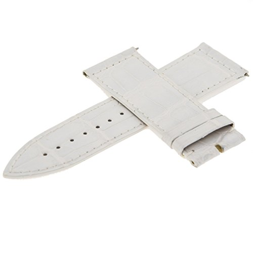Franck Muller 07L cuoio bianco 24 – 22 mm Watch Band