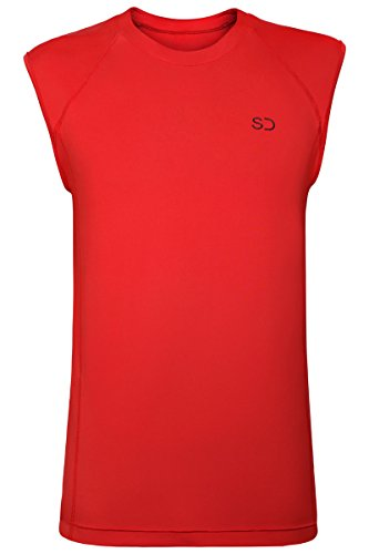 mens-tech-sleeveless-tank-top-for-gym-running-training-t-shirt-by-sundried-red-large