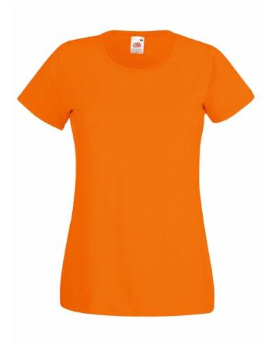 t-shirt-a-manches-courtes-fruit-of-the-loom-pour-femme-m-orange