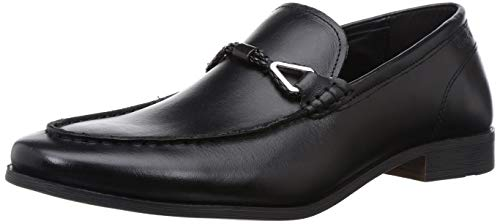 Red Tape Men's Black Leather Formal Shoes