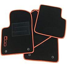 ab 2007 Allwetter Fußmatten Gummimatten für Fiat 500 Bj