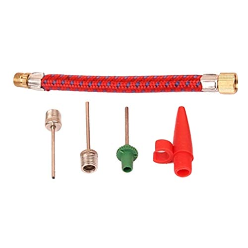 VORCOOL 5 Stücke Pumpe Adapter Ventil Adapter Konverter Stück Nadelventil Anschlüsse für Sport Fußball Basketball Fußball